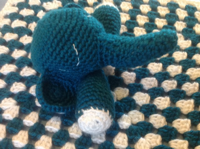 Amigurumi Elephant Snuggle : Amigurumi Elephant Snuggle - PrincessTafadzwa