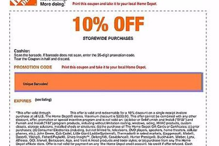 home de code off coupon save up to 200 in store only