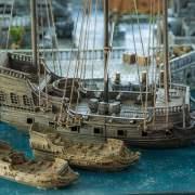 3d Printable Pirate  Ship