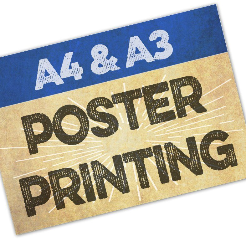 A4 & A3 Poster Printing In Colchester