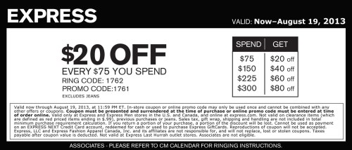 ... Codes At CouponFollow Express.Living Social Coupon Codes August 2013
