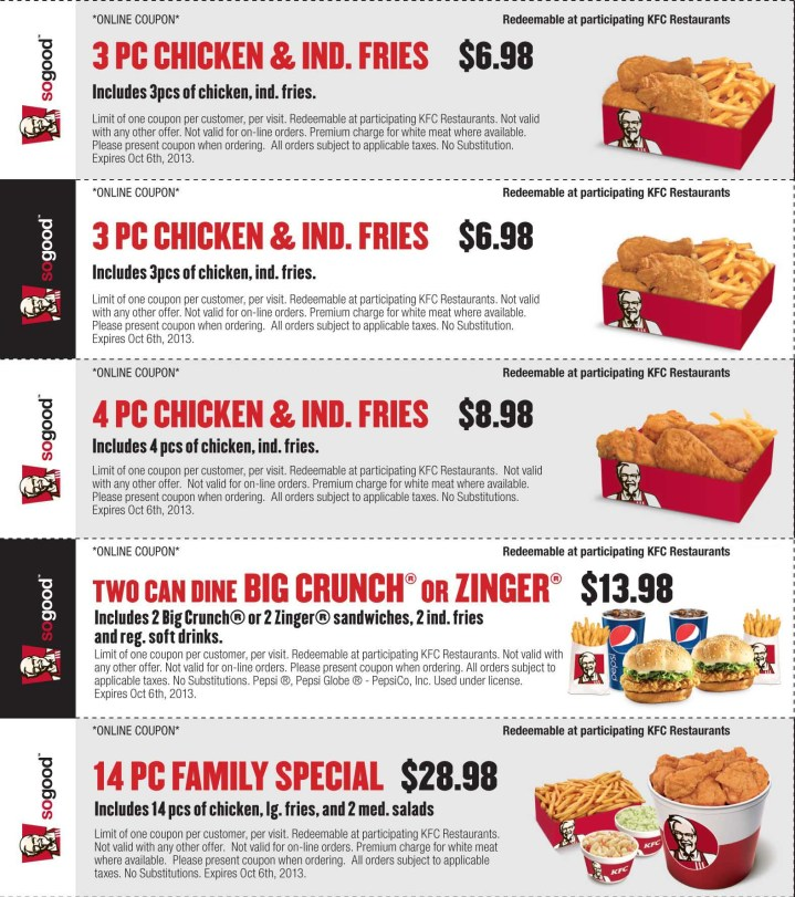 Church's chicken coupons august 2018