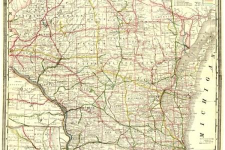 antique railroad maps united states and caa