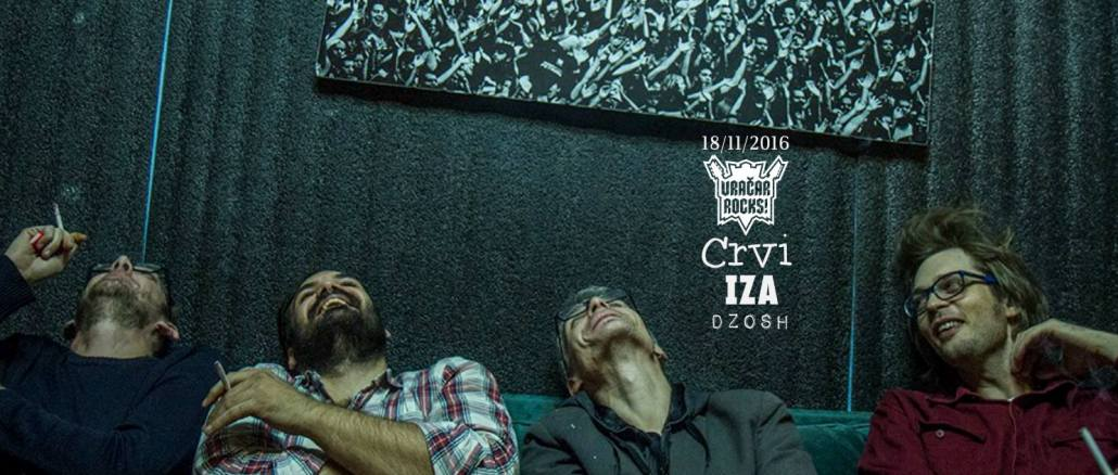 Iza i Crvi na Vračar Rocks Festivalu