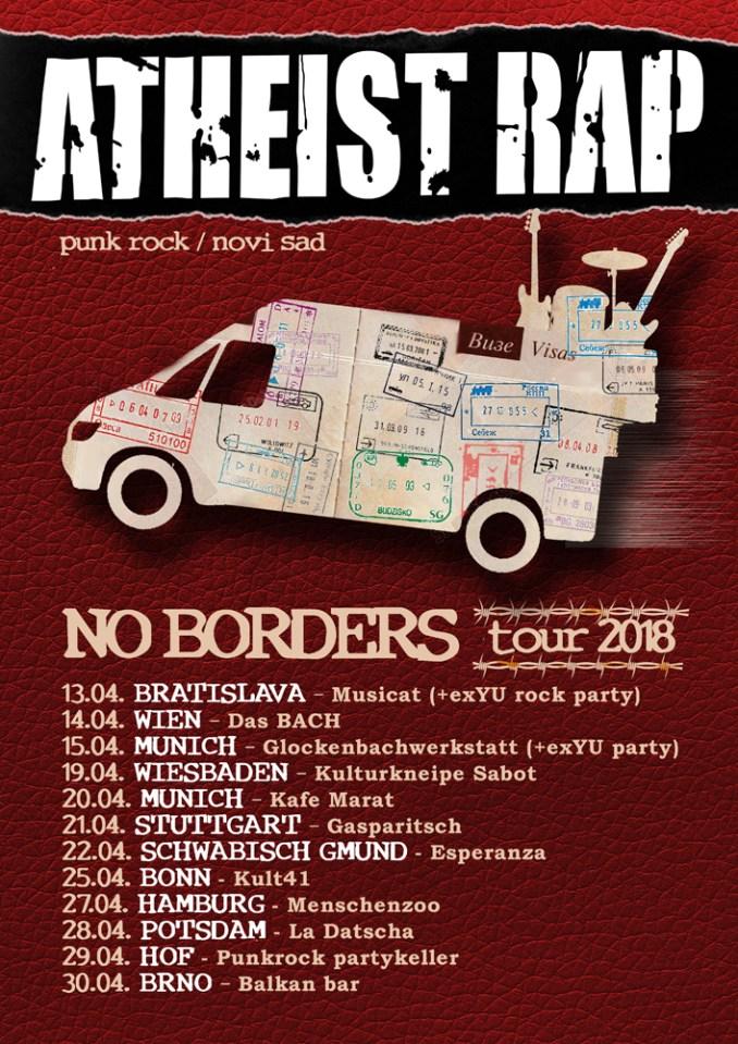 no borders plakat