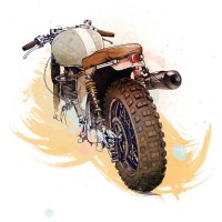 Cafe Racer Project do Oscar Llorens