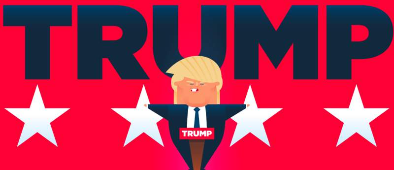 #TRUMPFACTS: Animando tudo que Donald Trump fala
