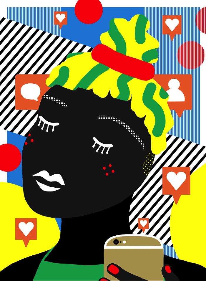 O que eu acho mais interessante nas ilustrações de Ana Jaks é como ela mistura cores fortes com temas vibrantes. É assim que ela acaba criando ilustrações com um visual simples mas que capturam sua atenção de todas as formas possíveis.
