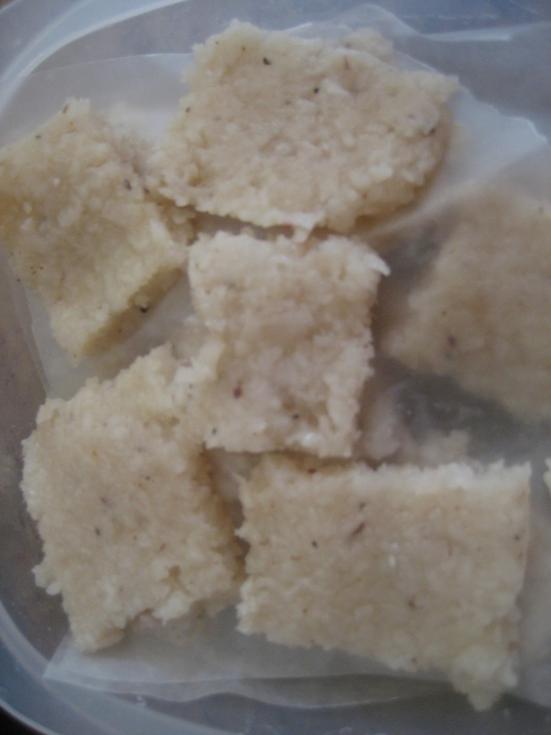 Sweetly Simple Coconut Barfi