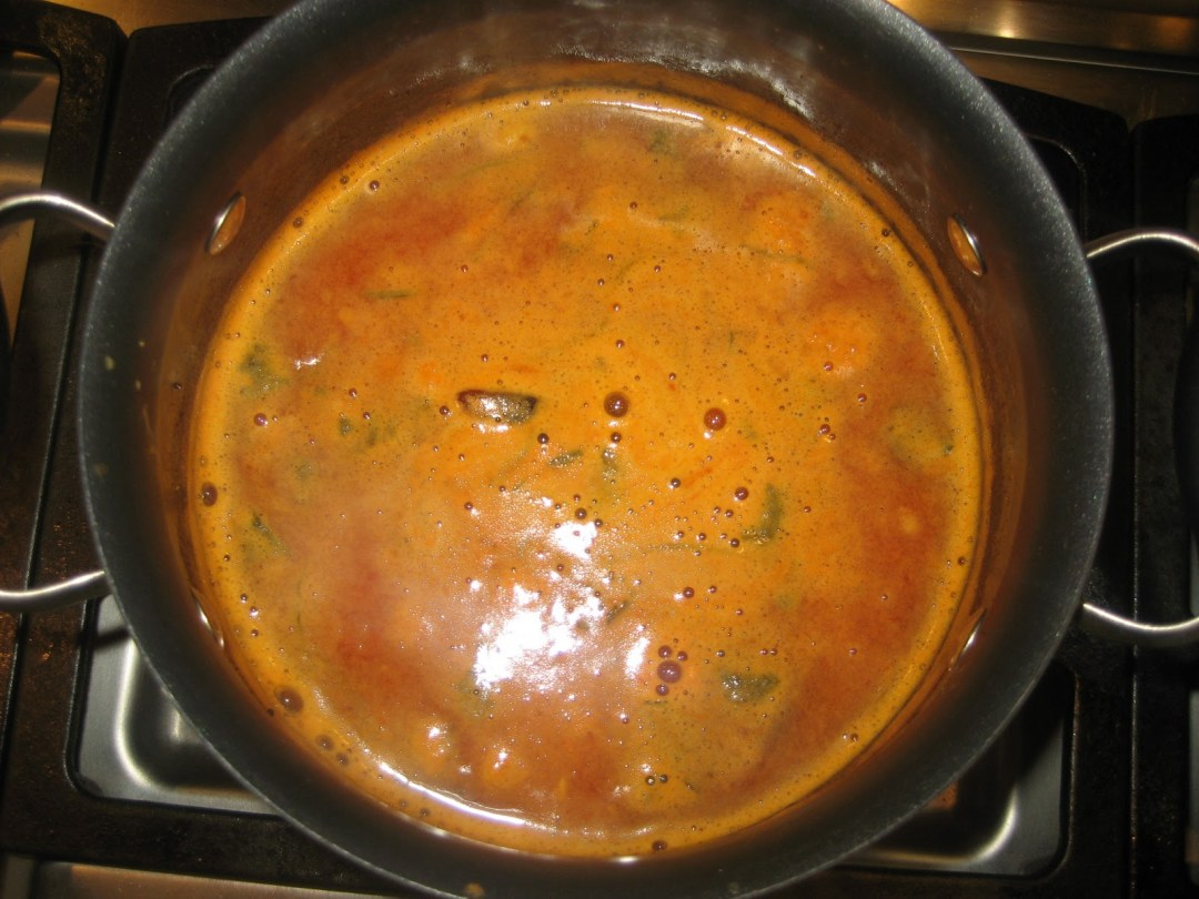 Clementine Orange Rasam/ Tradional Indian tomato-lentil soup with a hint of clementine