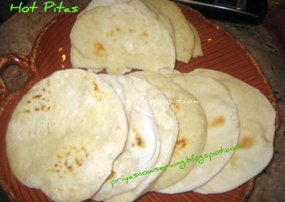 Hot Pita Pockets
