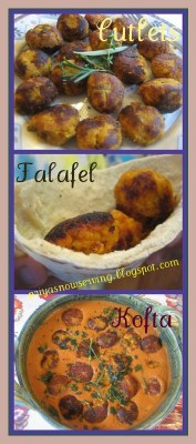 Sweet Potato Koftas