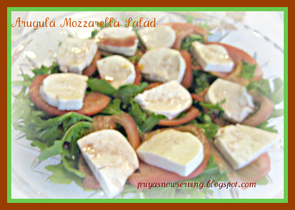 Arugula & Fresh Mozzarella Salad