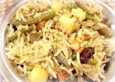 Vegetable Biryani/Pulao
