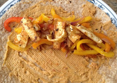 Pepper-Paneer Frankie Wrap