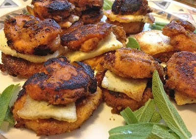 Sweet Potato-Paneer Sandwiches