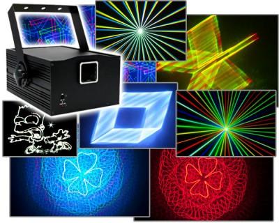 Neue starke Lasersysteme mit zusätzlichen 3D Effekten - die Laserworld Proline Serie