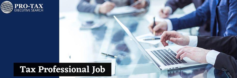 Tax Professional Job