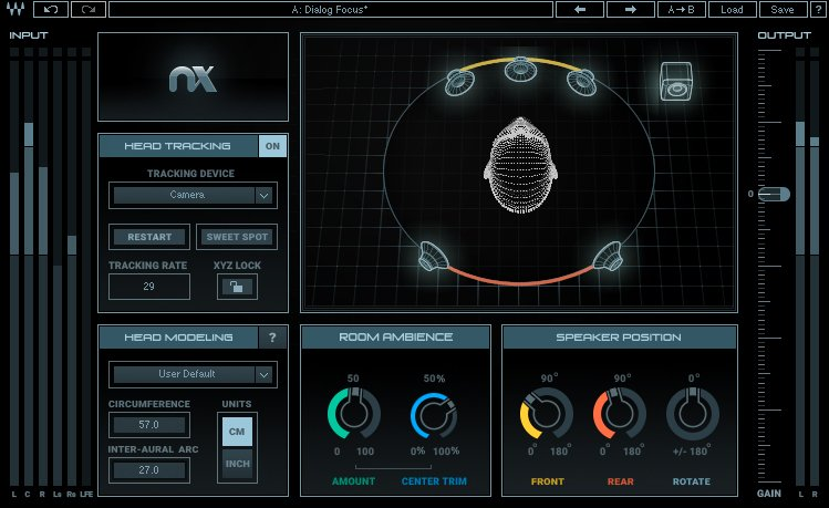 Waves NX Surround And Room Emulation Plug-In Released