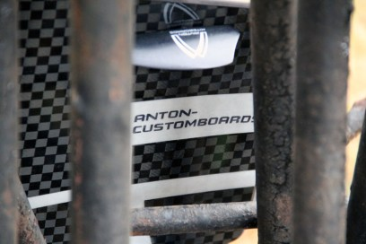 Anton Custom Kiteboard Casino Carbon 15