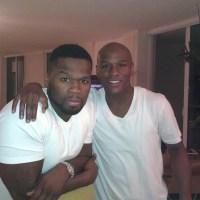 Fine, we'll talk Floyd Mayweather vs. 50 Cent feud a little bit today