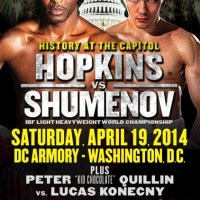 Bernard Hopkins vs. Beibut Shumenov set for April 19 in Washington DC