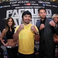 Photos: Manny Pacquiao & Chris Algieri hit Vegas