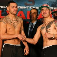 Mike Alvarado vs. Brandon Rios 3 weigh-in results, photos & videos