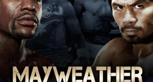Mayweather Pacquiao fight poster