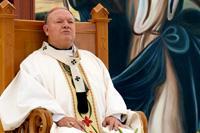 El Cardenal Sandoval Íñiguez. Foto: Refugio Ruíz