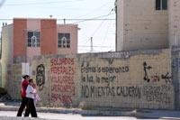 La colonia Salvarcar en Ciudad Juárez. Abandono. Foto: Octavio Gómez