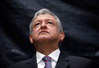 El aspirante presidencial de las izquierdas, Andrés Manuel López Obrador. Foto: Germán Canseco