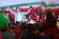 Enrique Peña Nieto, el aspirante presidencial del PRI. Foto: Octavio Gómez