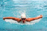 Fernanda González, nadadora mexicana. Foto: Aarón Cadena