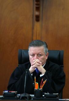 Caso Cassez. Desechan proyecto del ministro Zaldívar. Foto: Germán Canseco