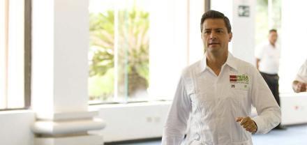 Enrique Peña Nieto, candidato de la coalición PRI-PVEM a la Presidencia. Foto: Prensa EPN