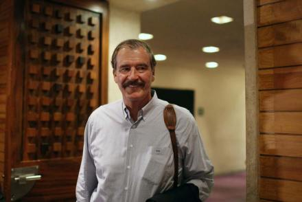 Vicente Fox, expresidente. Foto: AP / Alexandre Meneghini