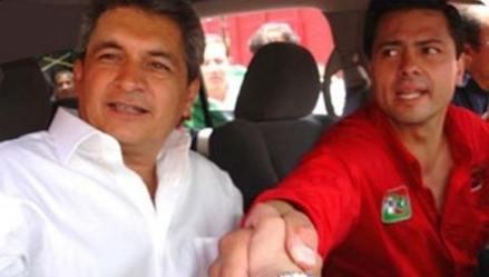Yarrington y Peña Nieto. Foto: Tomada de Twitter