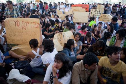 Universitarios afinan estrategia de YoSoy132. Foto: Octavio Gómez