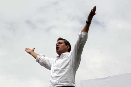 El candidato presidencial del PRI, Enrique Peña Nieto. Foto: Germán Canseco