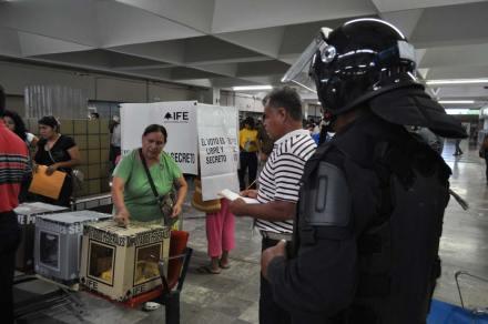 Tamaulipas. Elecciones bajo vigilancia. Foto: Juan Cedillo