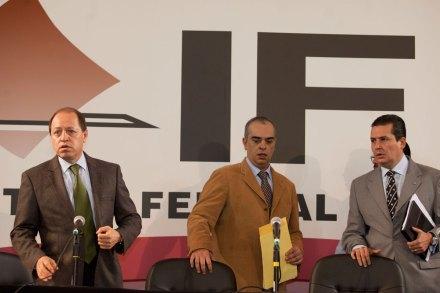 Sesión del IFE. Foto: Eduardo Miranda