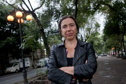 La periodista británica Jo Tuckman, autora del libro México: democracia interrumpida. Foto: Octavio Gómez.