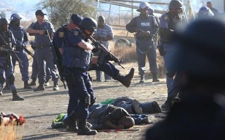 Sudáfrica. Vuelta a la represión. Foto: AP