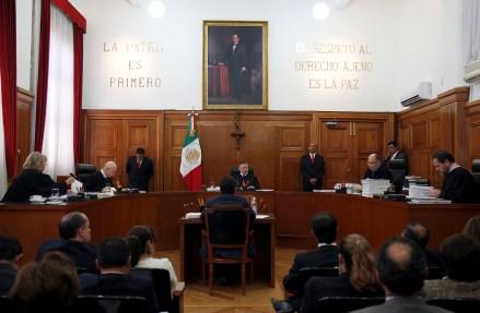 Sesión de Suprema Corte de Justicia de la Nación. Foto: Germán Canseco.