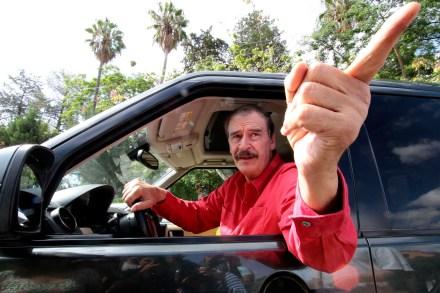El expresidente Vicente Fox Quesada. Foto: Karina Urbina.