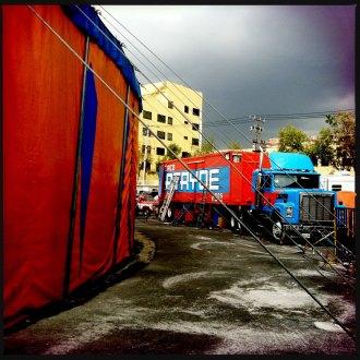 La carpa del circo Atayde. Foto: Alejandro Saldívar