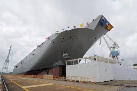 Uno de los buques en Galicia. Foto: Especial