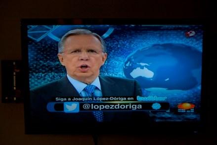 López Dóriga. Sin credibilidad