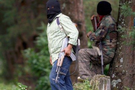 La autodefensa ciudadana en Michoacán. Foto: Juan José Estrada Serafín
